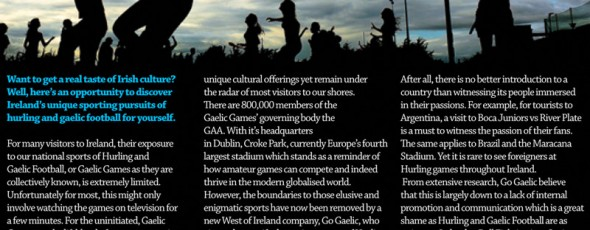 Yeah! Magazine article on Go Gaelic